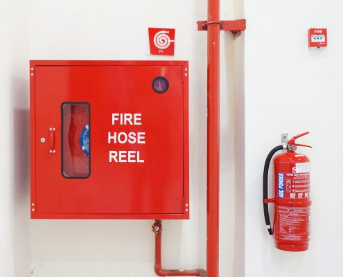 fire hose reel for fire safety